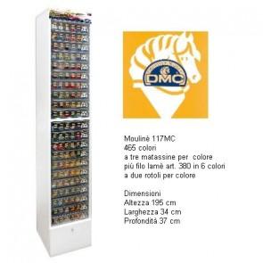 3951x3 MOULINE`DMC ASSORTIMENTO COMPL.