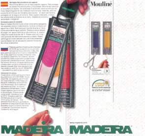 9017000 MADEIRA MOULINE' COTONE sp10x10m