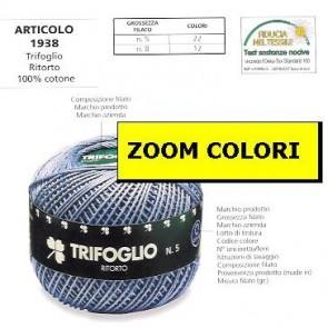 TRIFOGLIO 2 COTONE RITORTO gr50x10gom