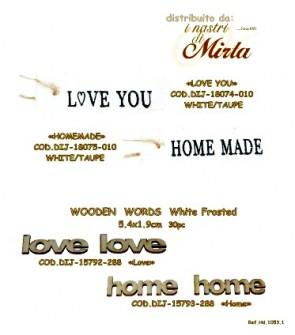 WOODEN WORDS HOME 5,4x1,9cm